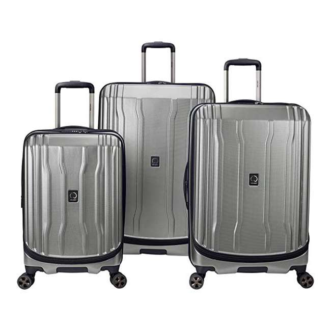 "40207998711 DELSEY Paris Cruise Lite Hardside 2.0 Carry On, 25"", & 29"" Suitcase Luggage Set"