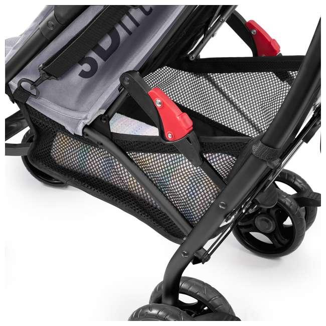 32303 Summer Infant 3Dlite Lightweight Folding Convenience Toddler Baby Stroller, Gray 5