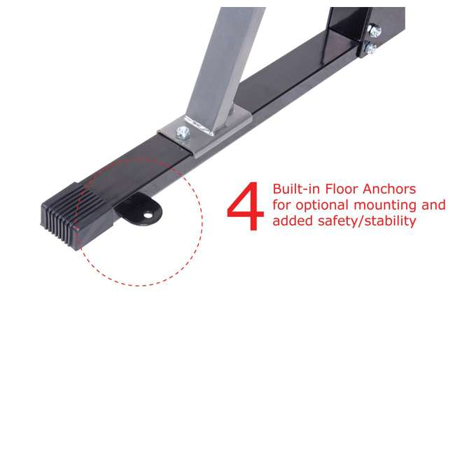 PBC530 Body Champ PBC530 U Frame/ Cage Power Rack System & Olympic Weight Plate Storage 3