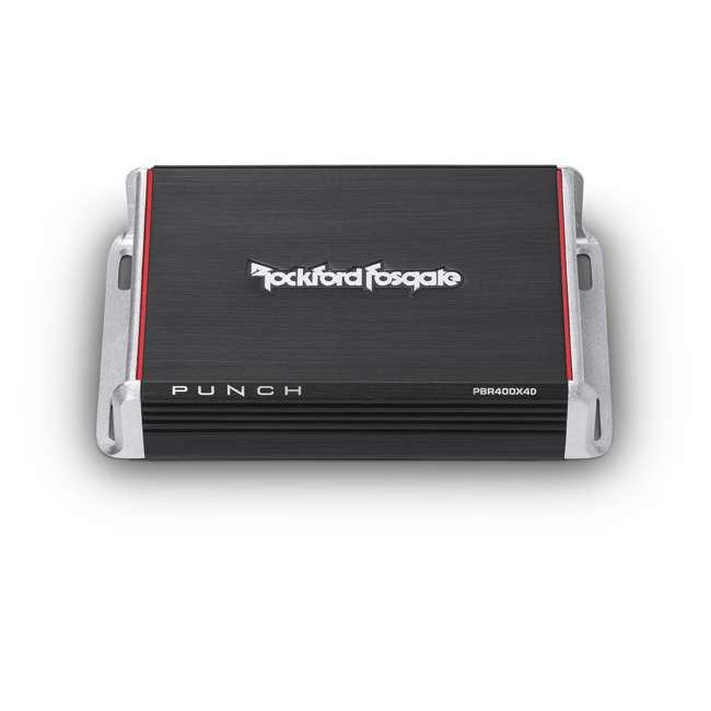 PBR400X4D Rockford Fosgate PBR400X4D Punch 400W Compact Full Range 4 Channel Amplifier