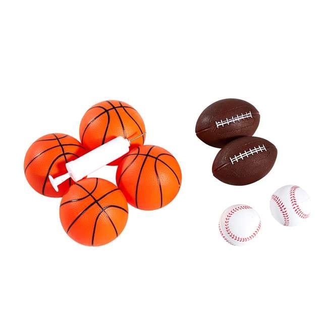 BBG019_018P Lancaster 2-Player Electronic Arcade 3-in-1 Basketball, Football, Baseball Game 5