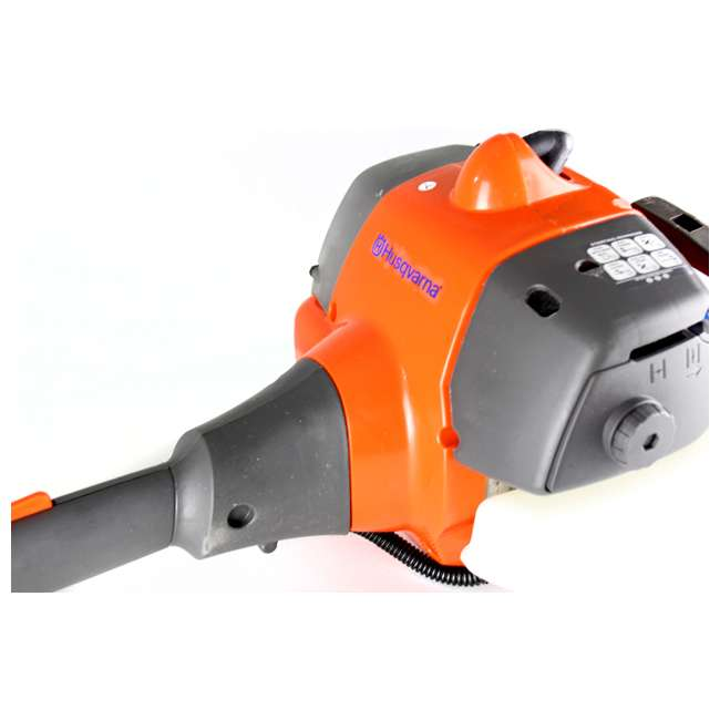 HV-TR-952711952 + HV-TOY-585729102 Husqvarna 2 Cycle Gas Powered Lawn Trimmer & Battery Operated Toy Weed Trimmer 5