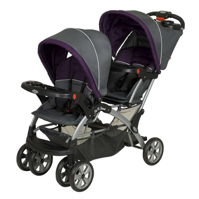 SS76715 Baby Trend Sit N Stand Double Stroller, Elixer