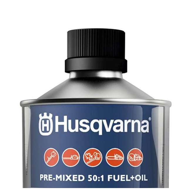 HV-FUEL-581158701 - (6 PACK-FULLCASE) Husqvarna XP Pre-Mixed Fuel and Engine Oil Quart (6 Pack) 4