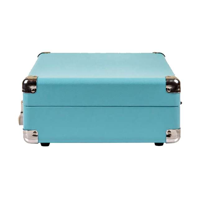 CR8005D-TU Crosley Cruiser Deluxe Portable Bluetooth Turntable, Turquoise 4