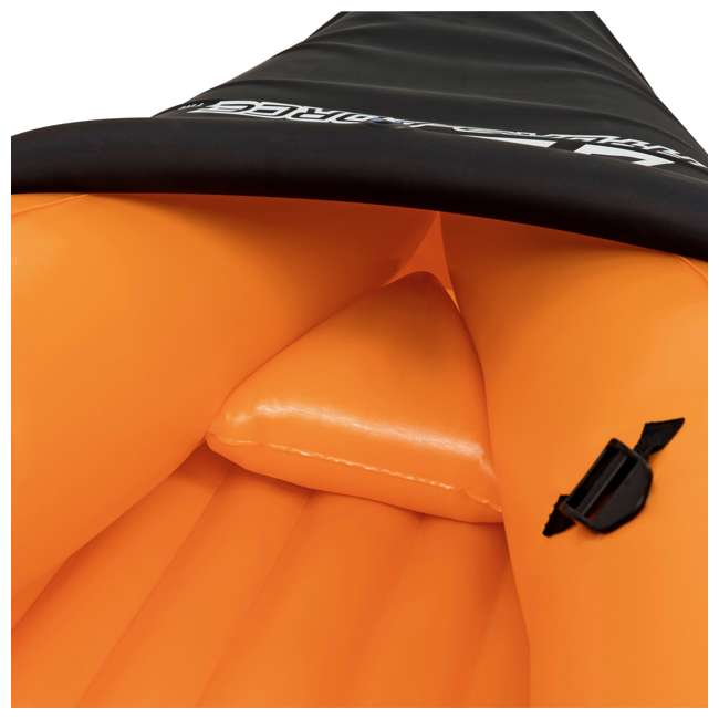 65077E-BW Bestway 126 x 35 Inches Lite-Rapid X2 Inflatable Kayak Float with Oars | 65077E 3