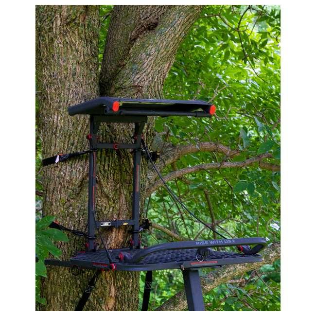 XSLS507 X-Stand XSLS507 Apollo 10 Ft. Portable Deer Hunting Single Man Ladder Tree Stand 1