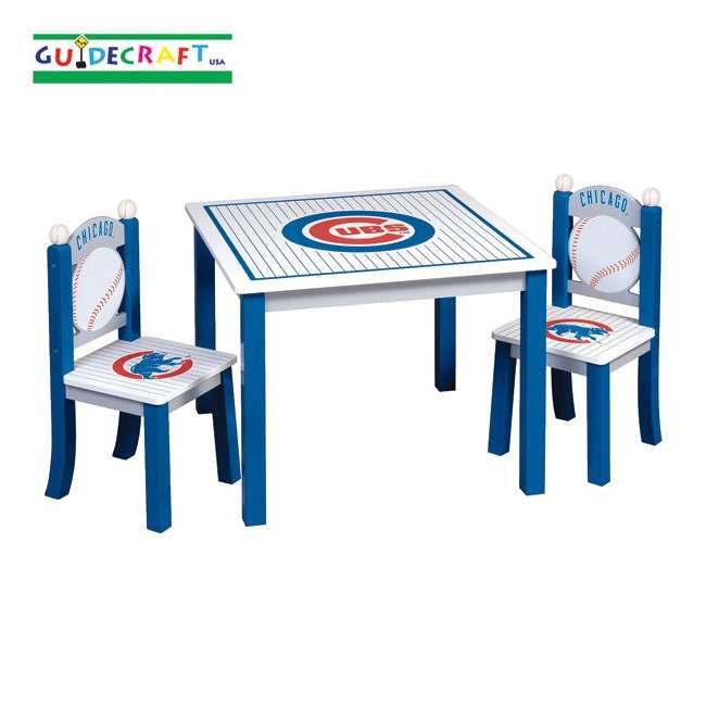 G11718 Guidecraft Cubs Table & Chairs Set