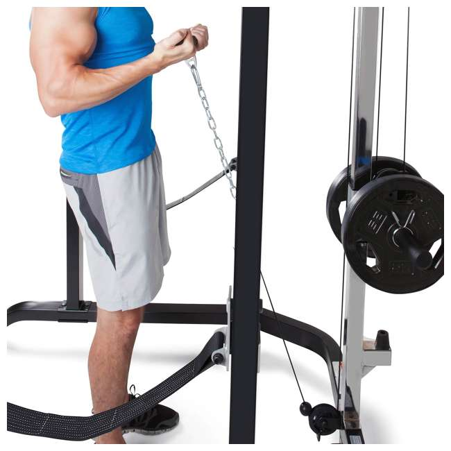 MWM-4484 Marcy Pro Full Cage and Bench System 4