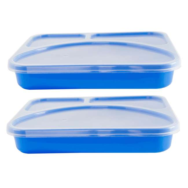 HPD-1 Life Story Reusable Easy-to-Clean Lunch Box Container (2 Trays)