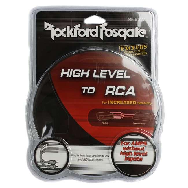 10 x RFI2SW Rockford Fosgate High to Low Level RCA Converter Adaptor (10 Pack) 2