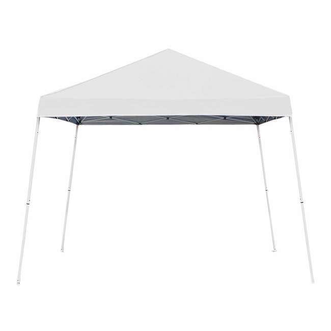 ZSB10INSTWH-U-A Z-Shade 10' x 10' Angled Leg Instant Shade Canopy Tent Shelter (Open Box)(2 Pack)