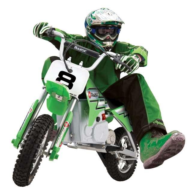15128030 + 97775 Razor MX400 Dirt Rocket Moto Bike & Full Face Helmet 2