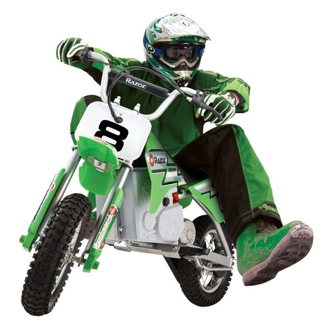 15128030-U-A RAZOR MX400 24V Dirt Rocket Electric Motorcycle Bike - 15128030 (Open Box) 1
