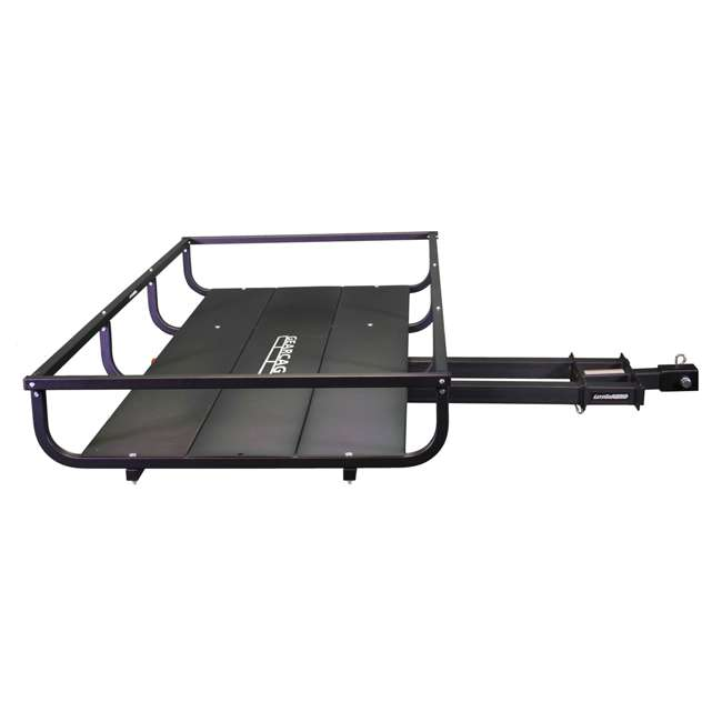 H01397 Let's Go Aero H01397 GearCage FP6 Slideout Hitch Rack w/ Silent Hitch Pin & LED 2