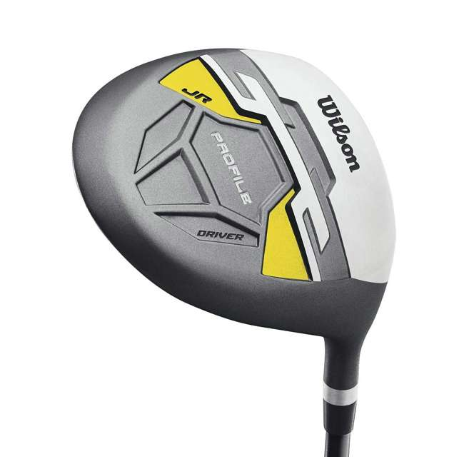 WGGC6122L Wilson Profile Complete Junior Left Hand Golf Set, Yellow 5