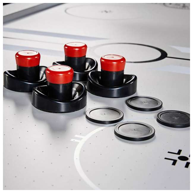 AWH084_108P-U-B Lancaster 84 Inch Air Powered Air Hockey Table with Game Accessories (Used) 4
