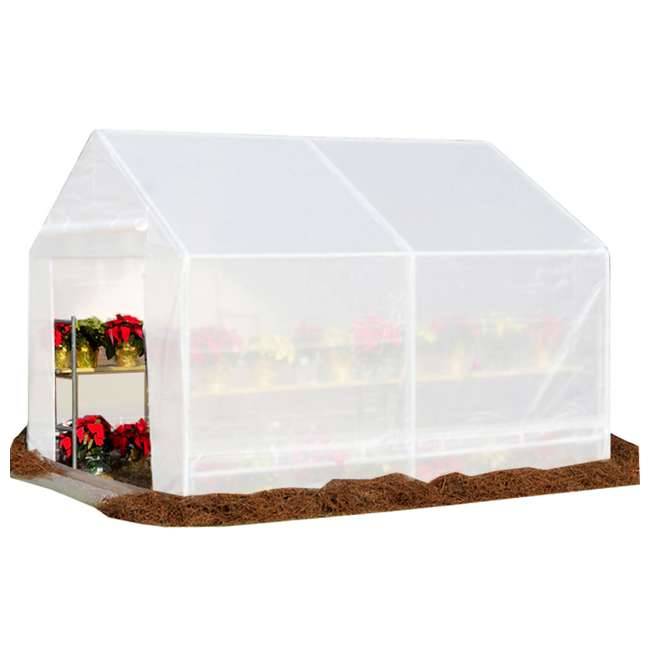 GH1010 King Canopy 10 x 10-Foot Fully Enclosed Greenhouse