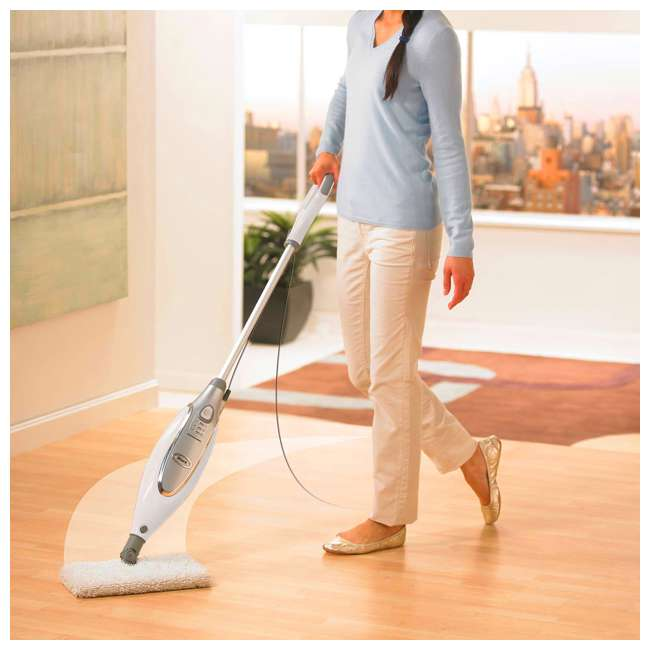 S3801CO_EGB-RB Shark Professional Dust, Mop, & Scrub Steam Electric Corded Pocket Mop | S3801CO 2