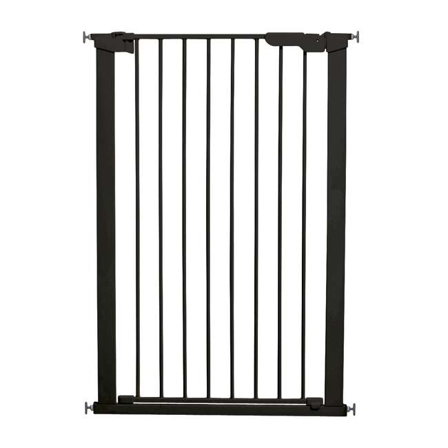 BBD-50916-2690 BabyDan 50916 Premier Extra Tall 31 Inch Pressure Mounted Pet Safety Gate, Black