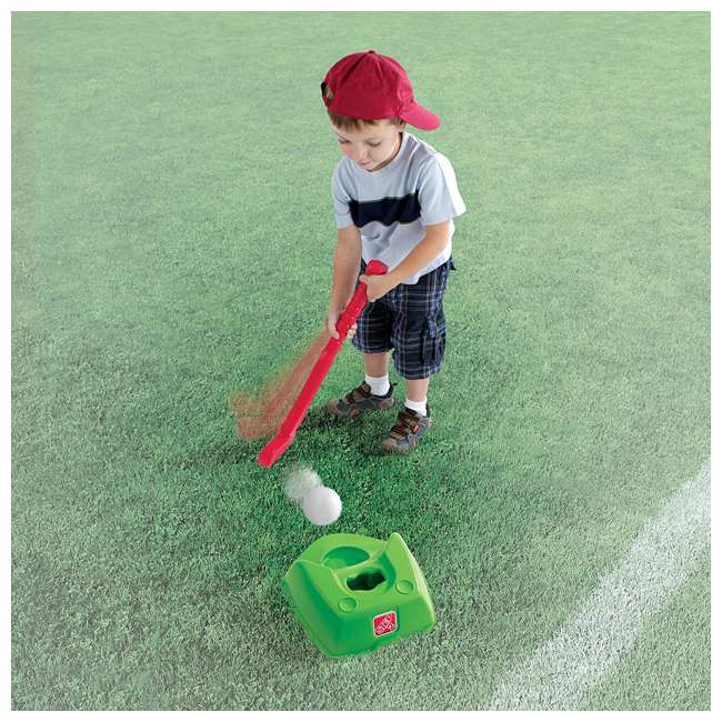 844300-U-A Step2 Toddler 2-in-1 T-Ball and Golf Indoor/Outdoor Sports Play Set (Open Box) 4