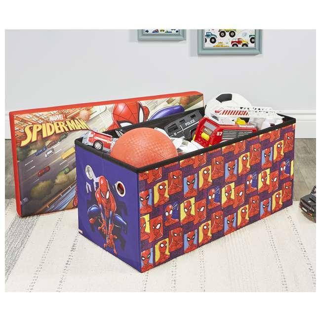 520021-001 Fresh Home Elements 30-Inch Licensed Folding Super Toy Chest & Bench, Spider-Man 4
