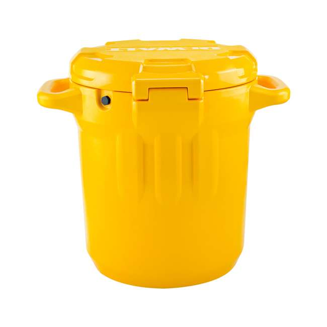 DXC5GAL-U-A DeWALT 5 Gallon Water Jug Dispenser Cooler w/ Spout & Handles, Yellow (Open Box) 8