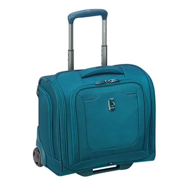 40229194732 DELSEY Paris 4 Sized Reliable Hyperglide Softside Travel Luggage Bag Set, Teal 2