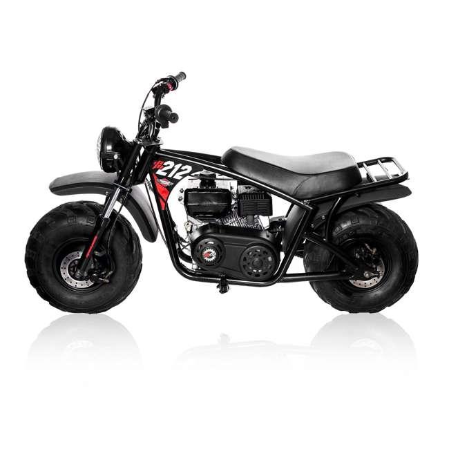 MM-B212-BR Monster Moto 212cc Gas-Powered Off-Road Mini Dirt Bike  6