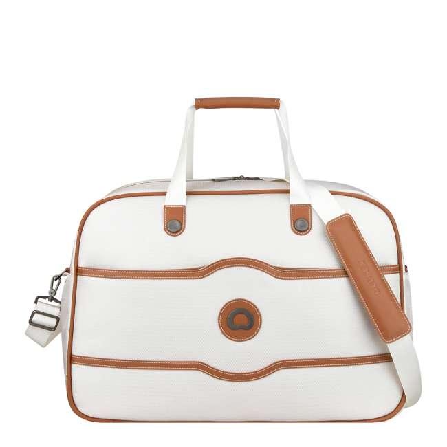 40177441015 DELSEY Paris Chatelet Soft Air Carry-On Weekender Duffel Bag, Chocolate Brown