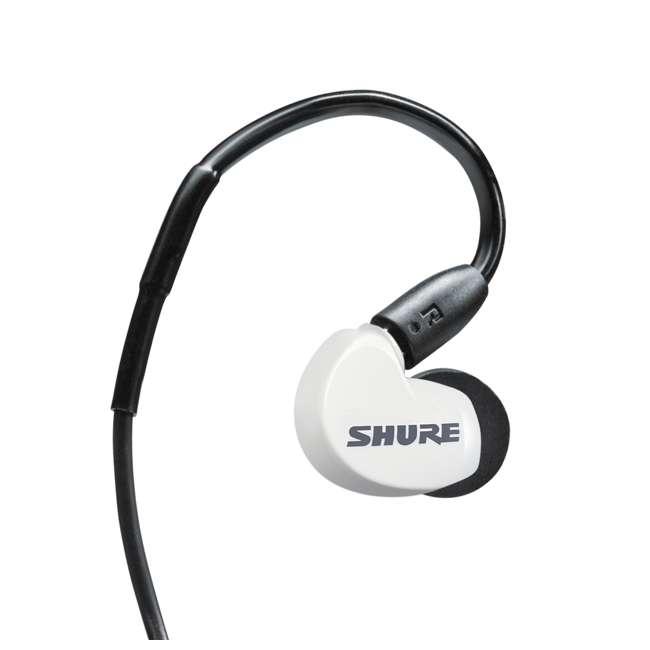 6 x SE215SPE-W-BT1 Shure Sound Isolating MicroDriver BT Earphones, White (6 Pack) 5