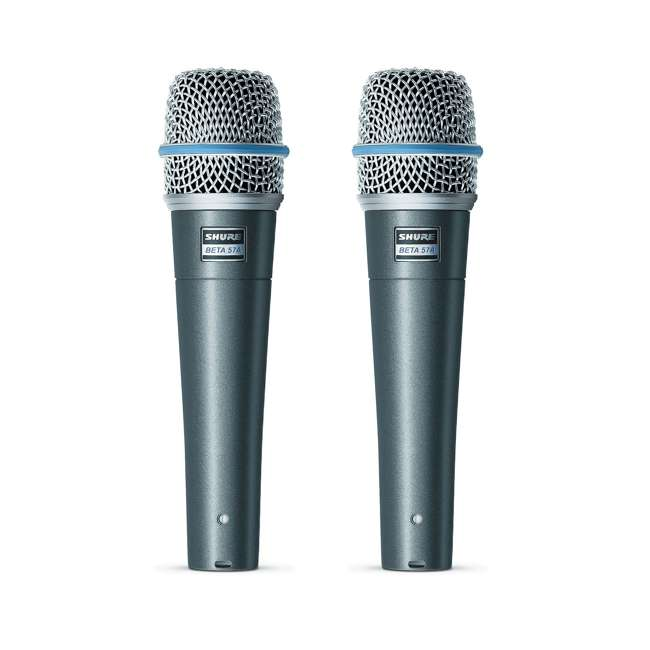 BETA-57A Shure BETA 57A Professional Instrument Microphone (2 Pack)