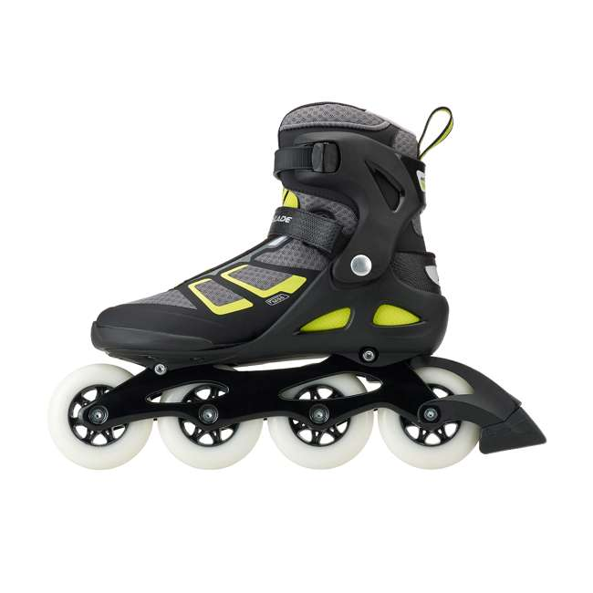 077340001A1-9 Rollerblade USA Macroblade 90 Men's Adult Fitness Inline Skates Size 9, Lime 2