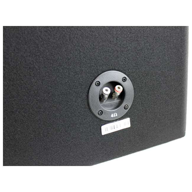 MB210SP-OB MTX MB210SP 10-Inch 1200W Dual Loaded Subwoofer Encolsure Package 3