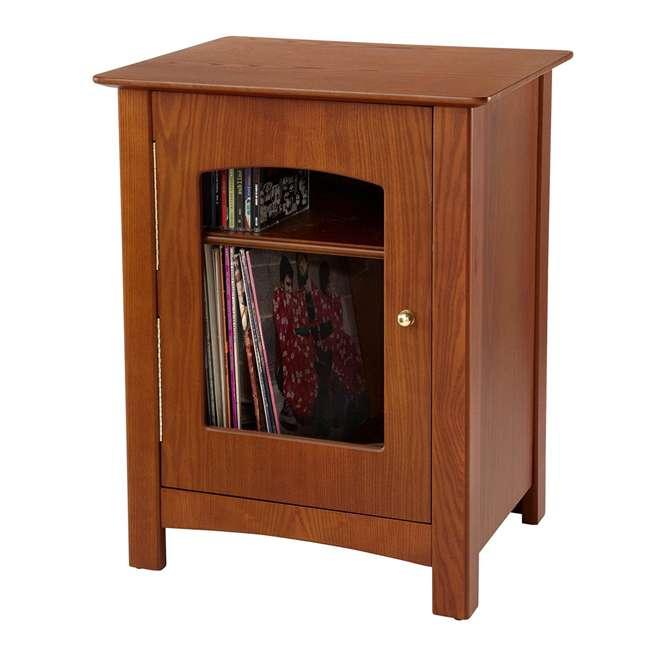 ST75-PA Crosley Bardstown Record Player Vinyl Storage Center, Paprika