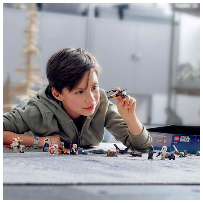 6251914 LEGO 75245 Star Wars 2019 Advent Calendar Block Building Kit w/ 6 Minifigures 4