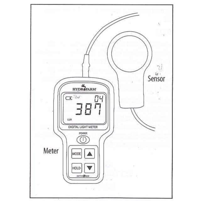 hydrofarm digital light meter