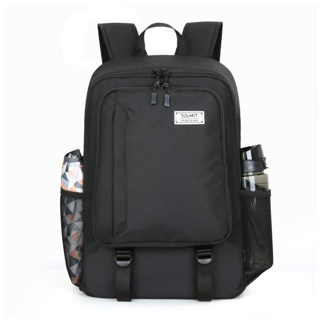 TR0260001A001 TOURIT Cormorant 28L Leakproof Insulated Backpack Camping Lunch Cooler, Black 2