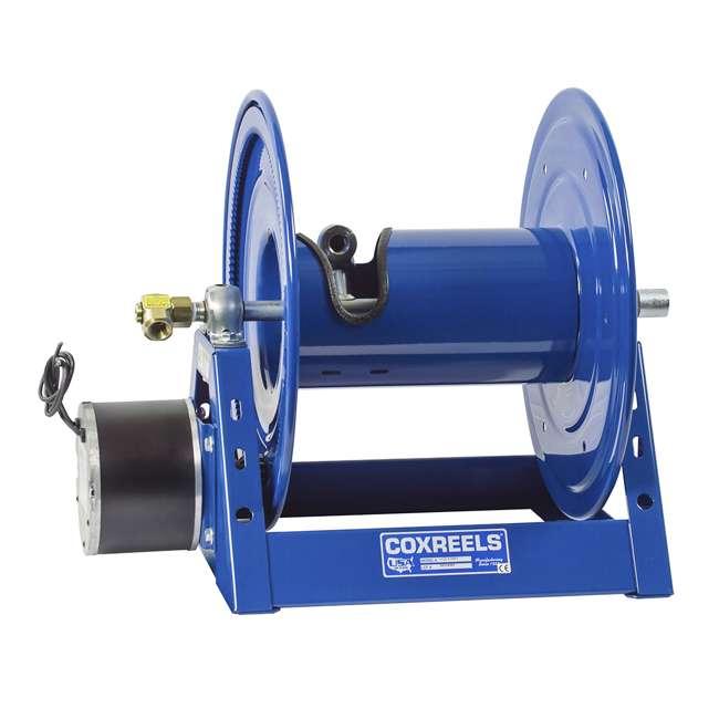 1125-4-200 Coxreels Steel Hand Crank Hose Reel 200 Foot Hose Capacity, Blue 2