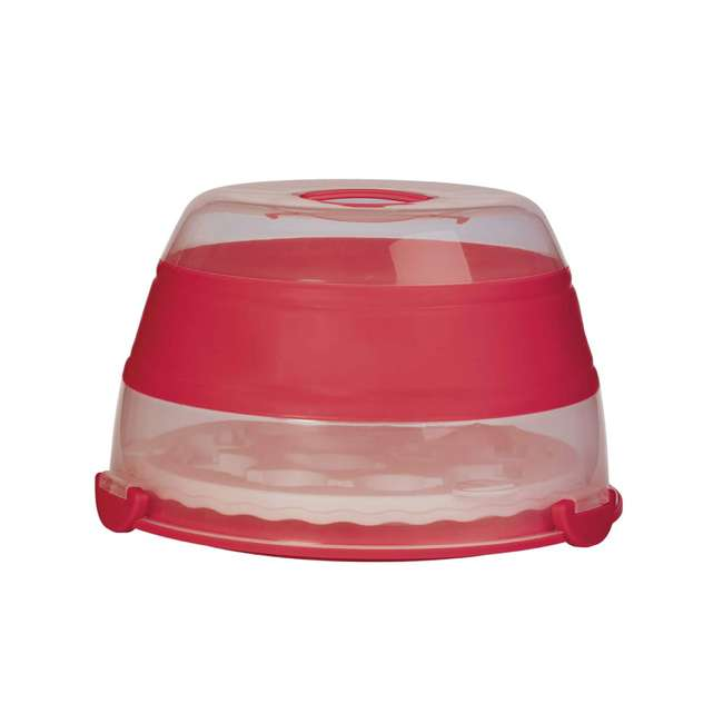 BCC-1 Progressive International Prepworks Collapsible Cupcake Carrier, Red