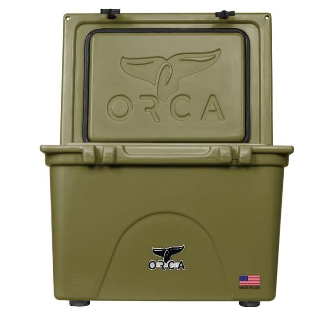 ORCG058 ORCA 58-Quart 72 Can Heavy-Duty Insulated Cooler, Seafoam Green 4