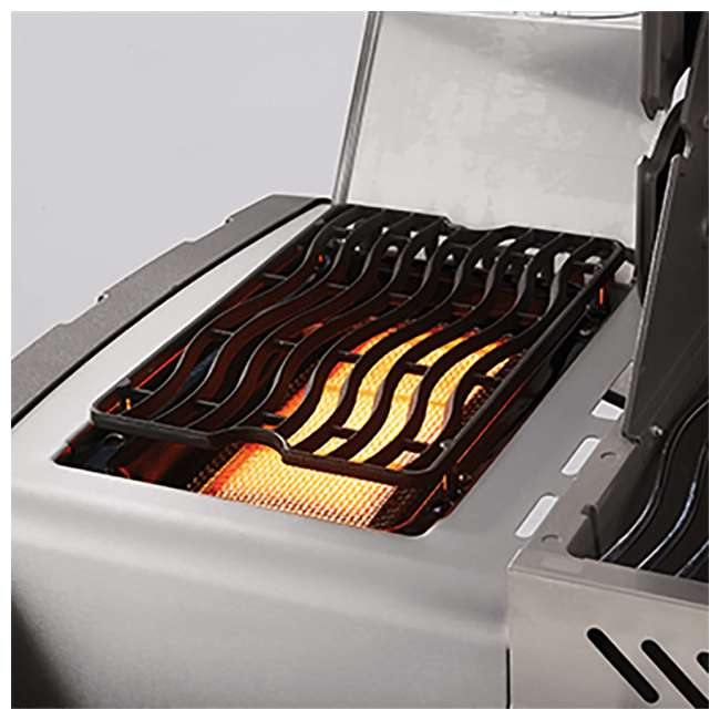 P500RSIBPB-1 + WS-61500 Napoleon Prestige Grill with Infrared Side and Rear Burners + Protective Cover 10