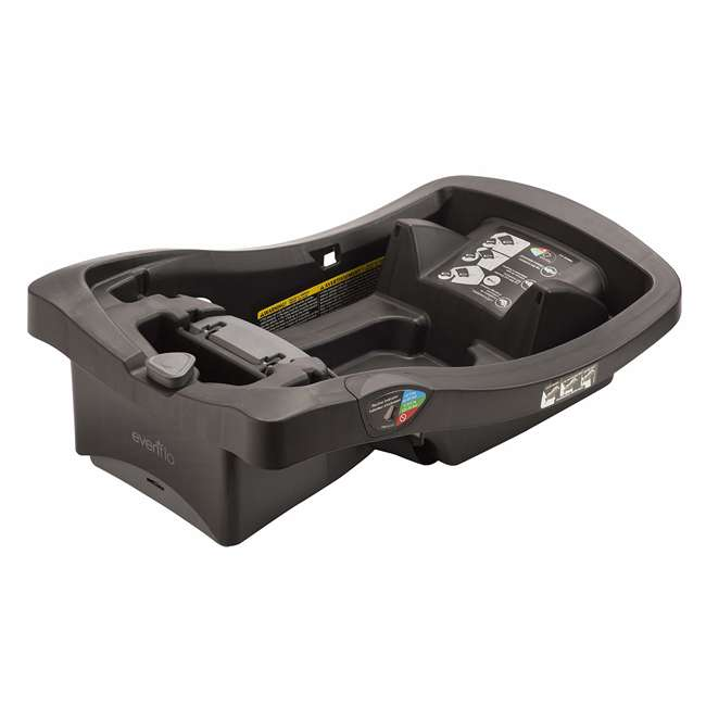 6391600 Evenflo LiteMax 35 Infant Rear Facing Durable Car Seat Attachment Base, Black