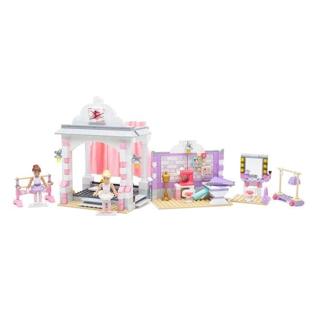 DPK86 Mattel Mega Bloks American Girl Isabelle's Ballet Recital Set