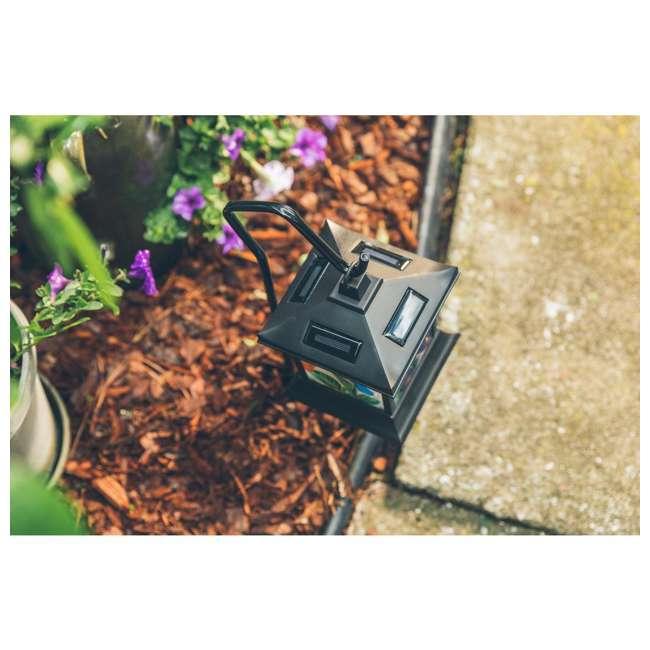 MR-92276 Moonrays Solar Powered LED Garden Outdoor Metal Stake Light 4