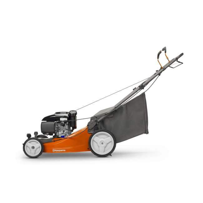 HV-WB-961480061 + HV-TOY-589289601 Husqvarna Front Wheel Drive Self Propelled Gas Lawn Mower + Kids Toy Lawn Mower 3