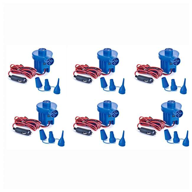 6 x 19150 Swimline Solstice 19150 12 Volt Electric Air Pump (6 Pack)