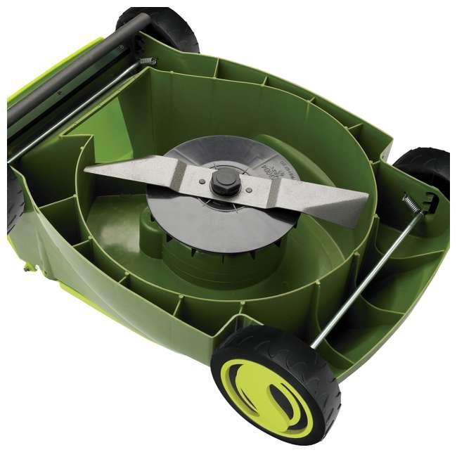 SUJ-MJ401E Sun Joe MJ401E 14 Inch 12 Amp Electric Push Lawn Mower, Green 2