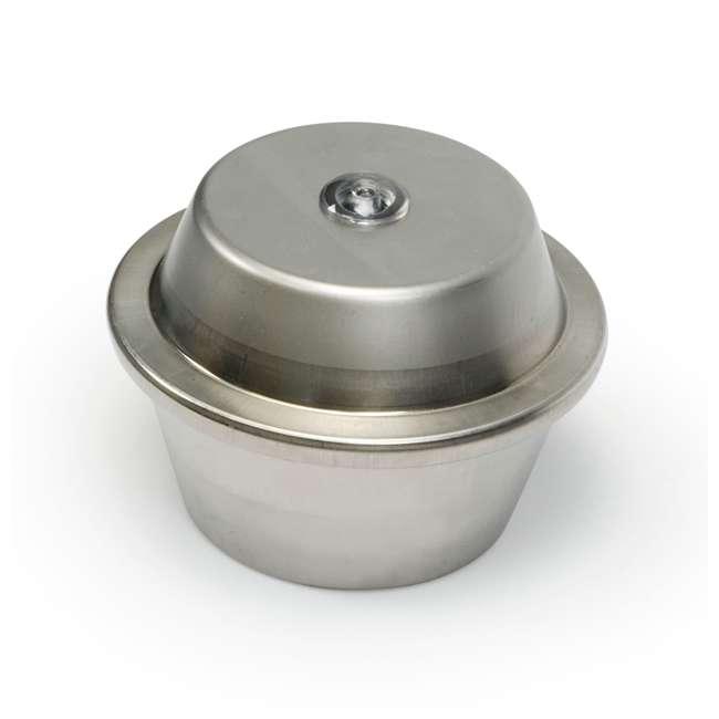 AQS-39000-U-C Aquascape 300 Watt Stainless Steel Pond Heater & Deicer Water Garden (For Parts) 1