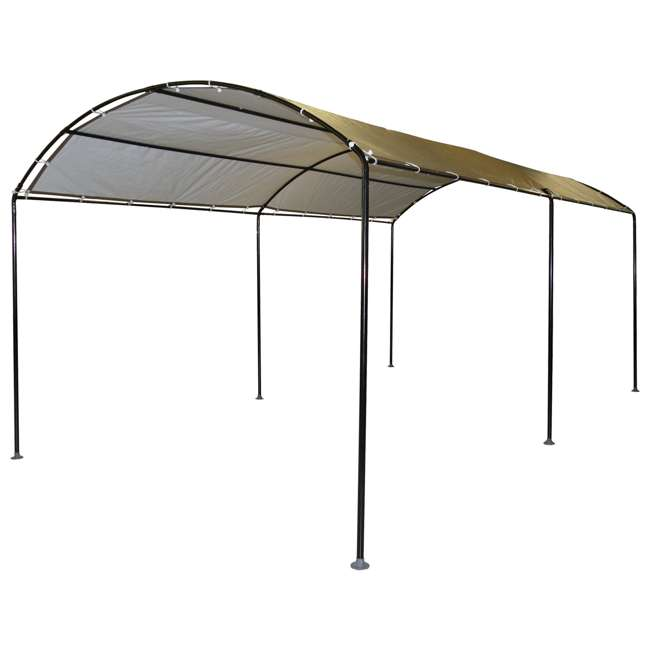 25867 ShelterLogic 25867 18 x 10-Foot Monarc Series All-Purpose Canopy, Sandstone